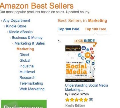 number 1 on Amazon